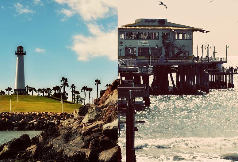 Long Beach & Santa Monica