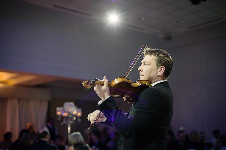 Violinist Mihail Chibanu
